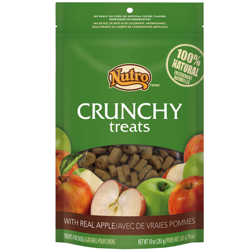 Nutro Crunchy Treats Apple (10 oz)