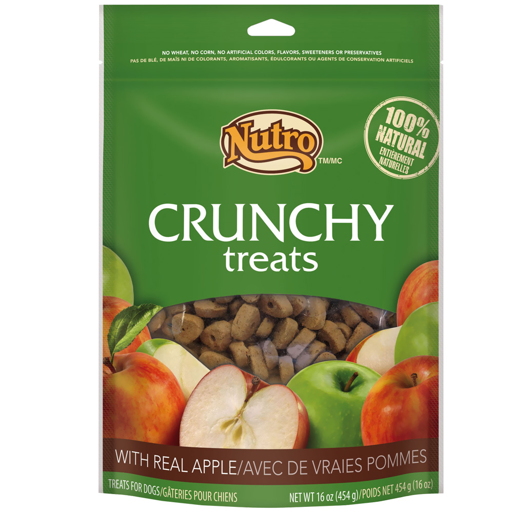 Nutro Crunchy Treats Apple (16 oz)