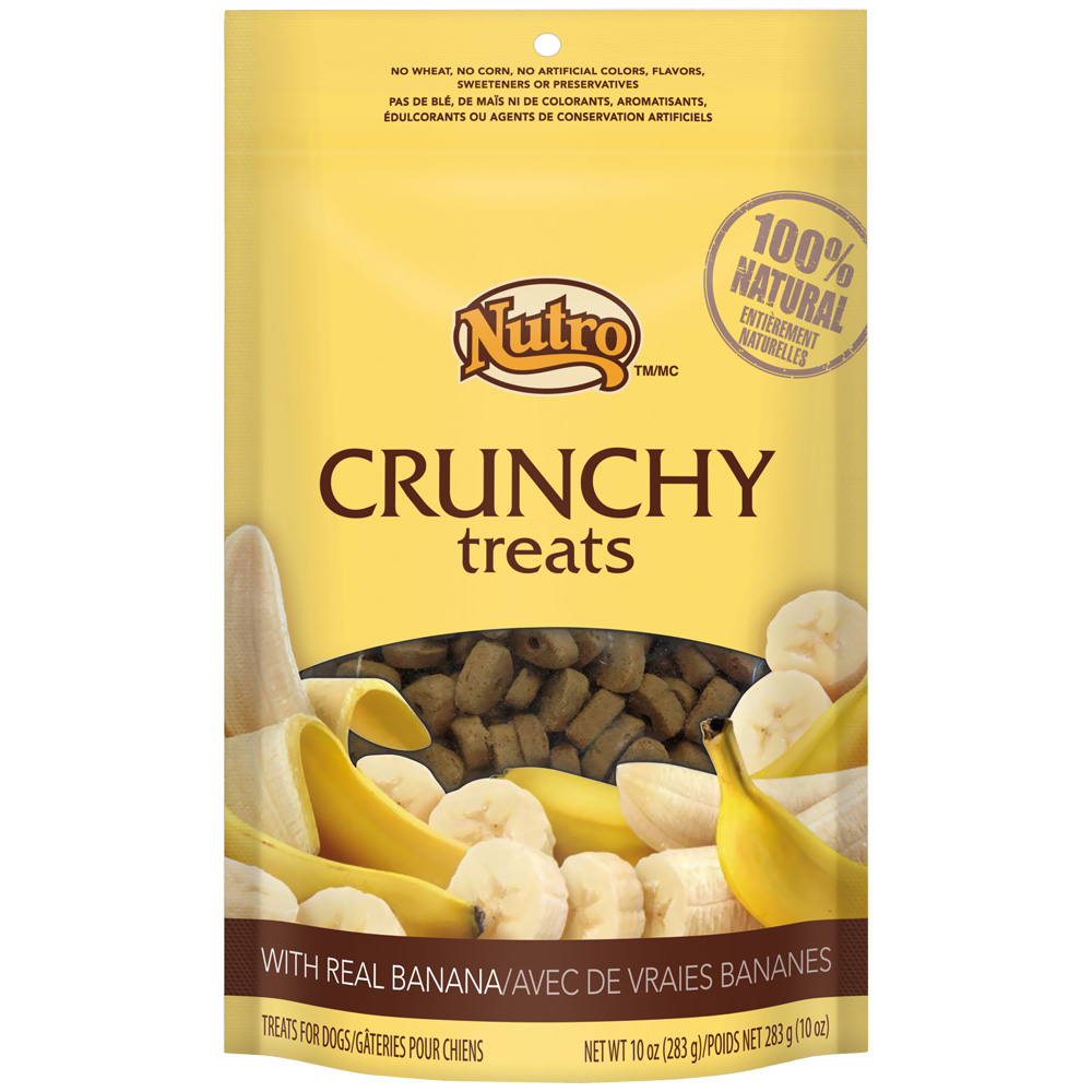 Nutro Crunchy Treats Banana (10 oz)