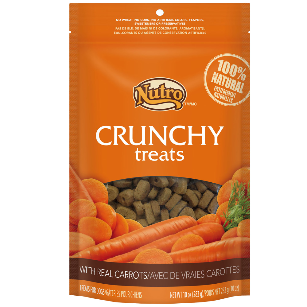 Nutro Crunchy Treats Carrot (10 oz)