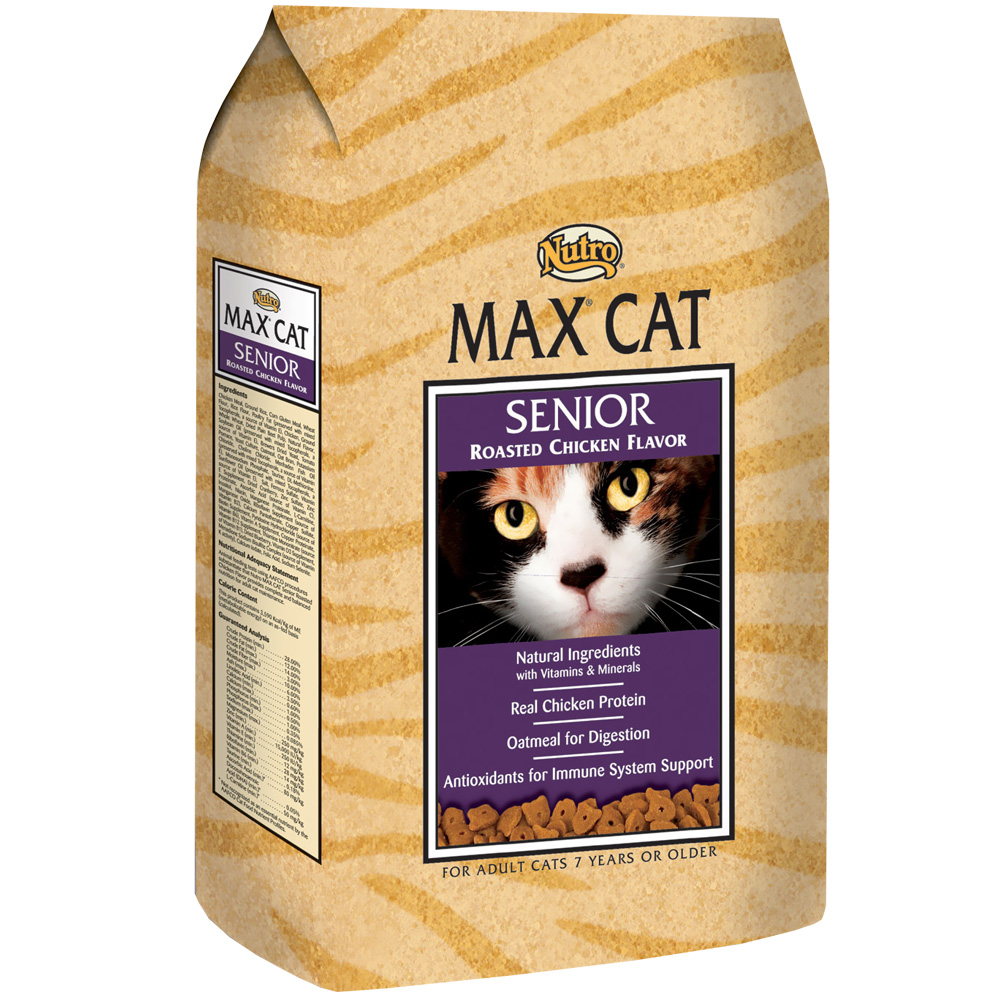 Nutro Max Cat Roasted Chicken - Senior (16 lb)