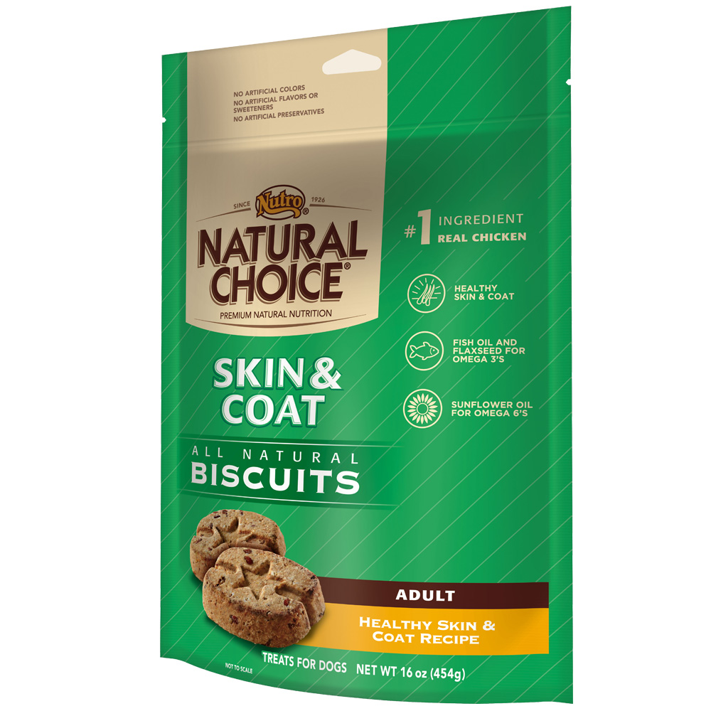 Nutro Natural Choice Healthy Skin & Coat Biscuit - Adult Dog (16 oz)