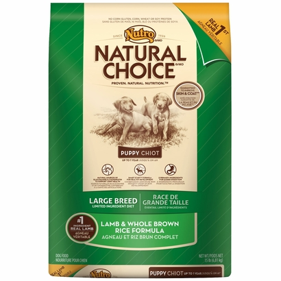 Nutro Natural Choice Lamb And Rice Puppy Food Review