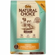 Nutro Natural Choice Wholesome Essentials Chicken, Brown Rice & Oatmeal - Young Adult Dog (15 lb)