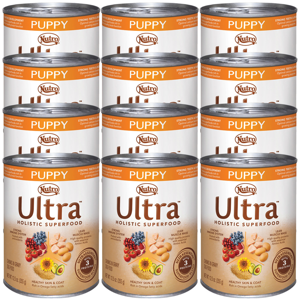 Nutro Ultra Canned Puppy Food (12x12.5oz)