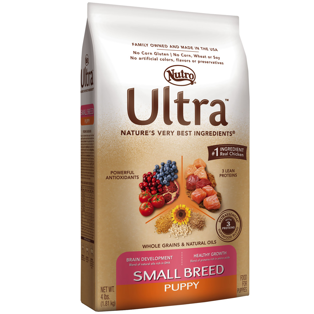 Nutro Ultra Small Breed Dry Puppy Food (4 lb)