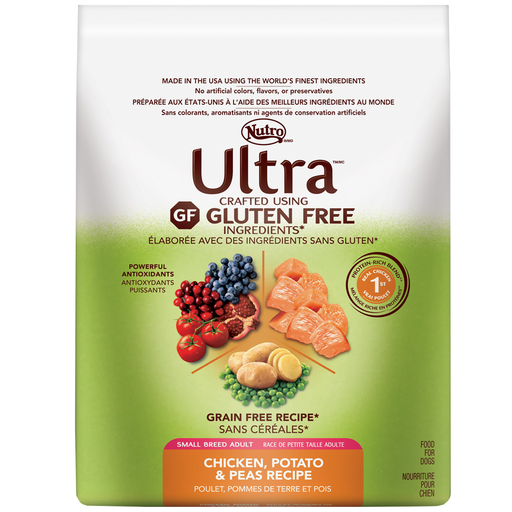 Nutro Ultra Small Breed Gluten Free Chicken Adult Dry Dog Food (4 lb)