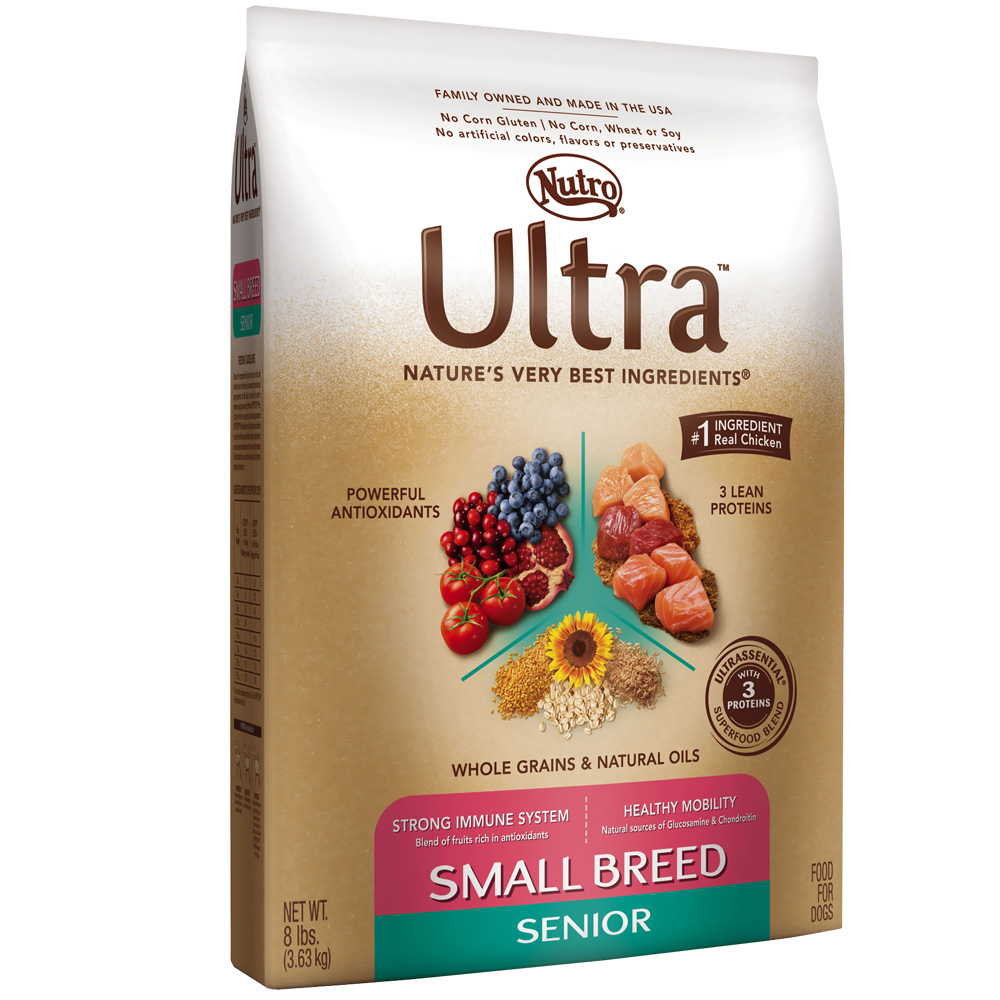 Nutro Ultra Small Breed Senior Dry Dog Food (8 lb)