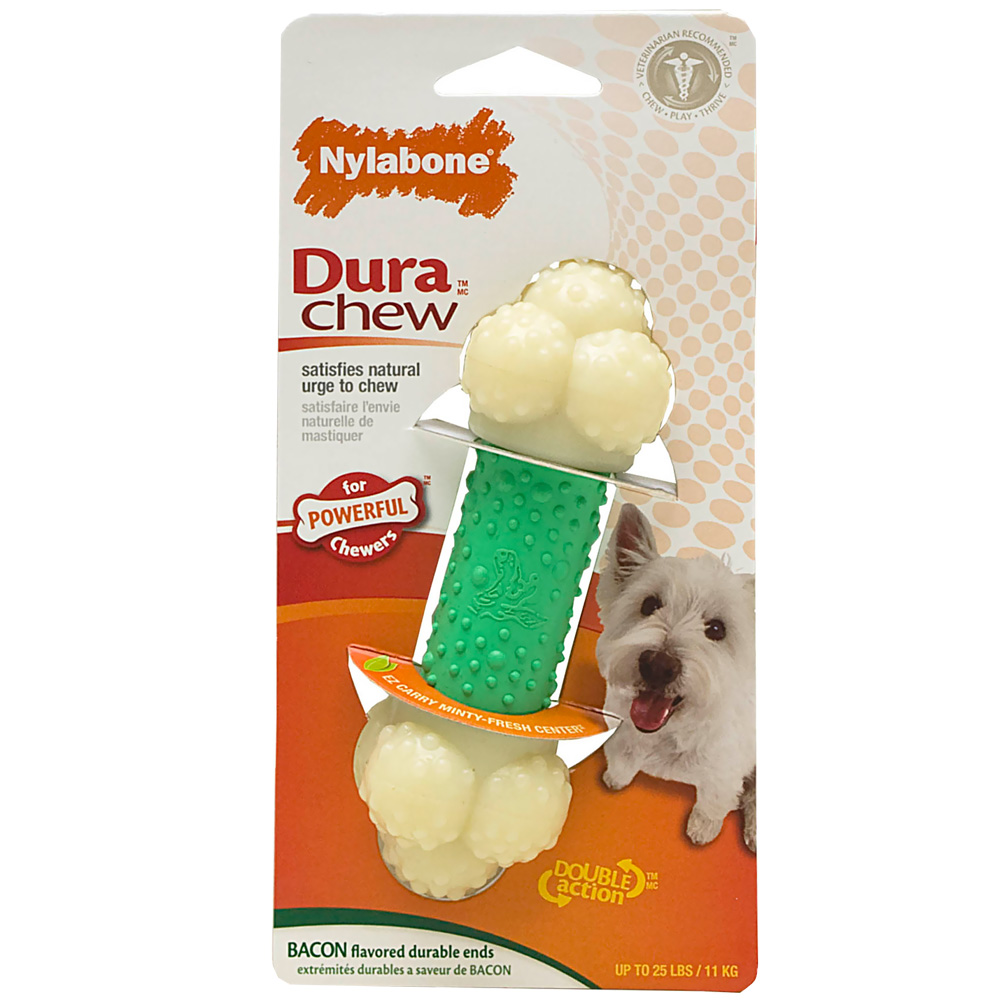 Nylabone Double Action Chew - REGULAR (5