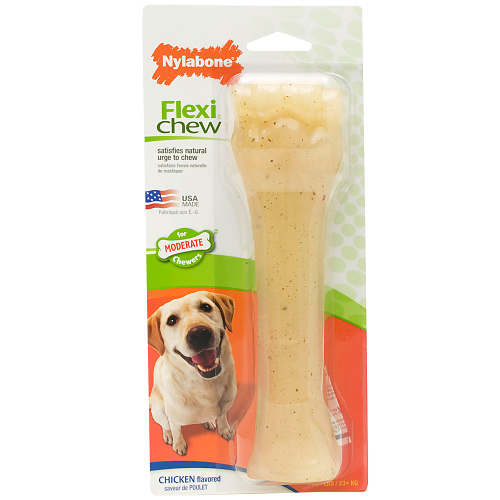 Nylabone Flexible Chicken Bone � SOUPER (8�)