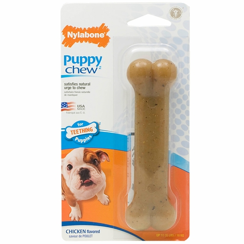 "Nylabone Flexible Puppy Bone � REGULAR  (4.5"")"