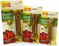 Nylabone Healthy Edibles Roast Beef Flavored Bones
