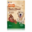Nylabone Nutri Dent Dental Chews Filet Mignon (3 Large)