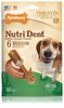 Nylabone Nutri Dent Dental Chews Filet Mignon (6 Medium)