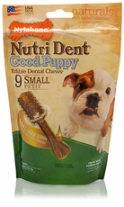 Nylabone Nutri Dent Puppy Bacon Cheese (9 Small)