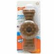 Nylabone Puppy Ring Teething Chicken Flavored Bone - Souper (Large)