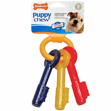 Nylabone Puppy Teething Keys � EXTRA SMALL (5.5�)