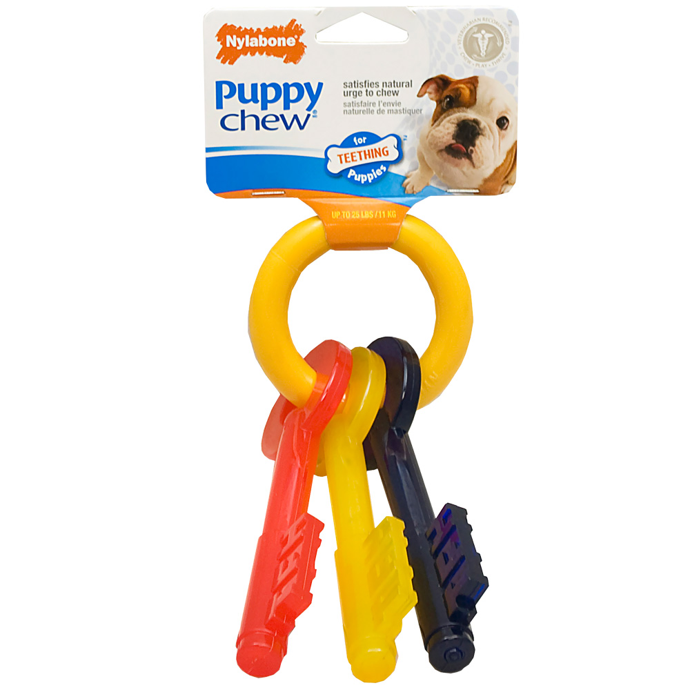 Nylabone Puppy Teething Keys � SMALL (7�)