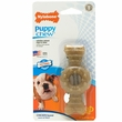 Nylabone® Puppy Ring Teething Chicken Flavored Bone - Petite (Small)