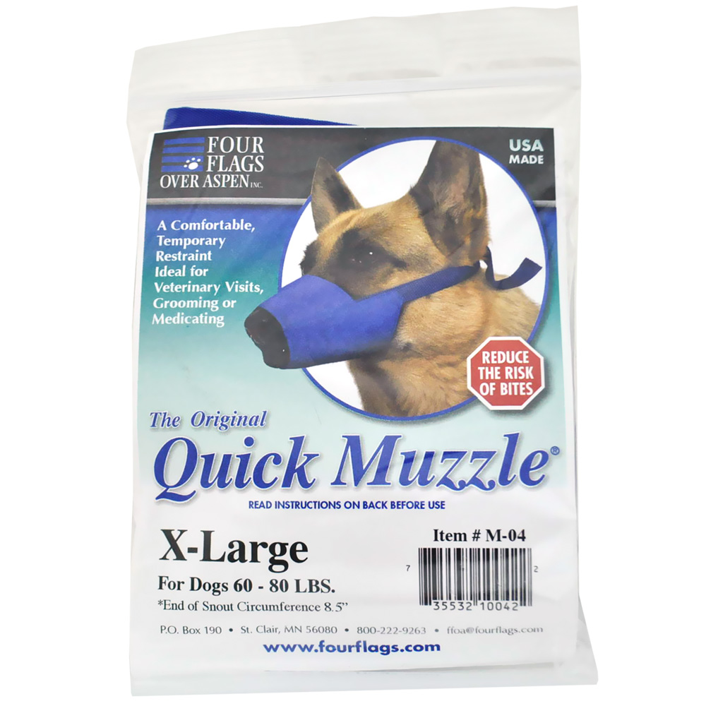 Nylon Dog Muzzles XLarge