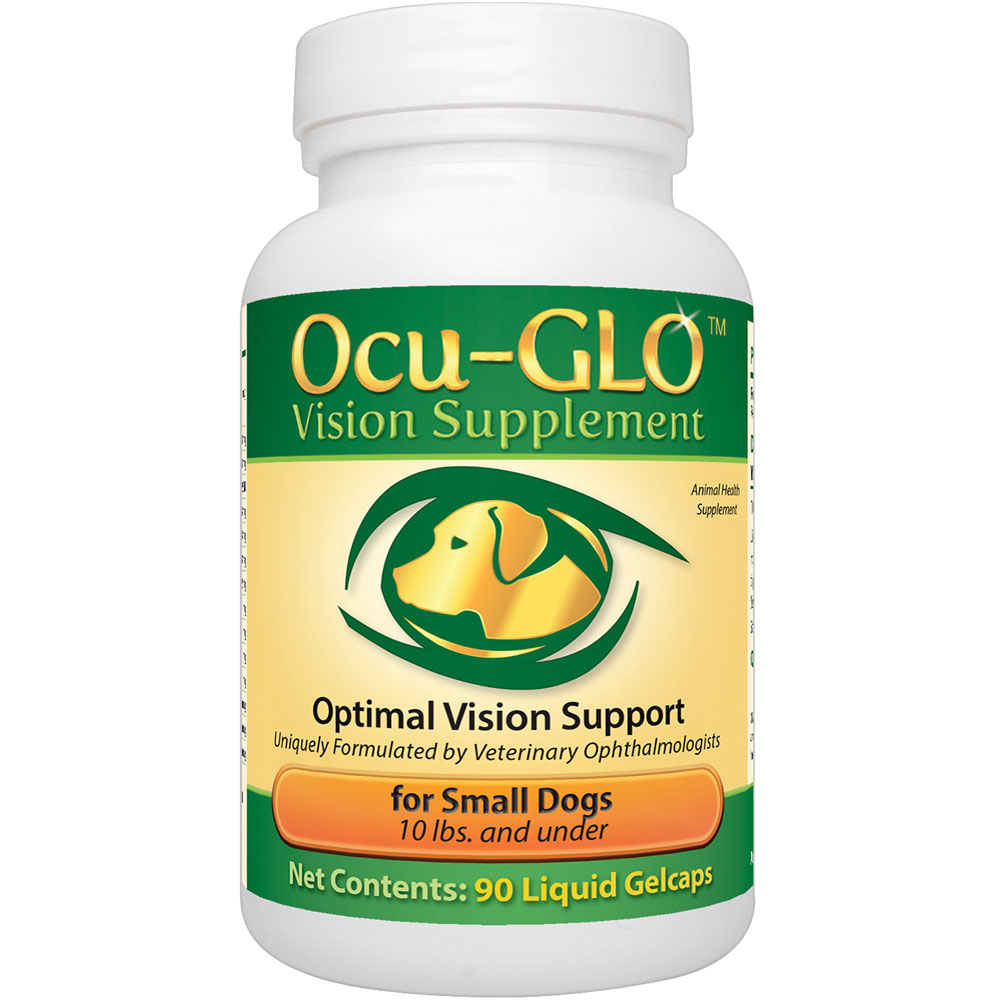 Ocu-GLO for SMALL Dogs (90 Gelcaps)