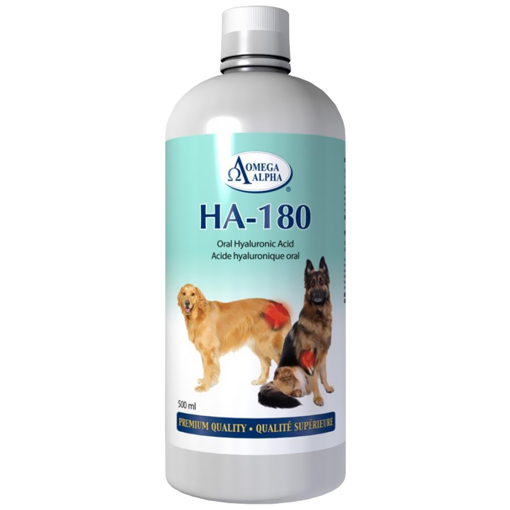 Omega Alpha HA-180 - Hyaluronic Acid (16 oz)