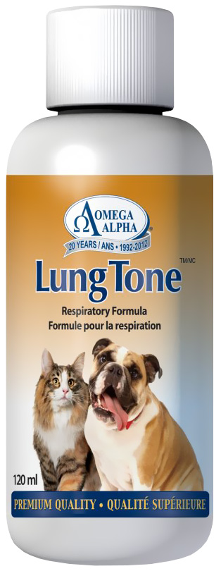 Omega Alpha LungTone (4 oz)