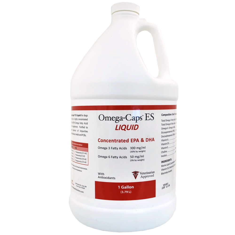 Omega-Caps™ ES Liquid (1 Gallon)