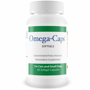 Omega-Caps™ For Cats & Smaller Dogs (60 Softgel Capsules)