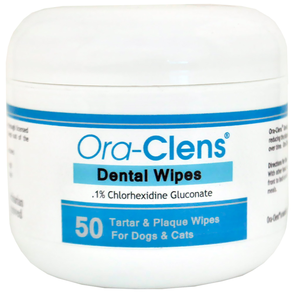 Ora-Clens® Dental Wipes (50 Count)