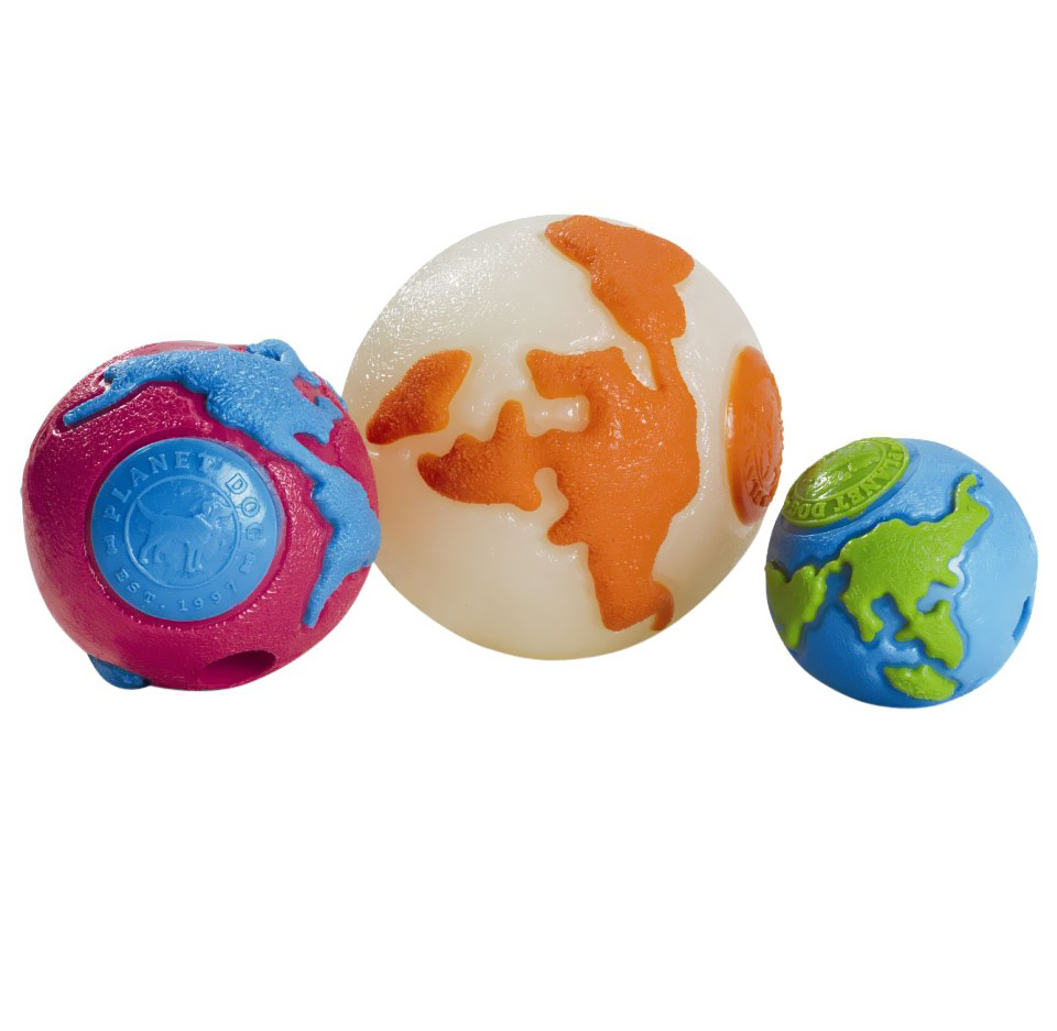 Orbee Tuff Ball Pink/Blue - LARGE