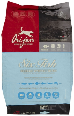 Orijen 6 Fish Dog Food (28.6 lb)