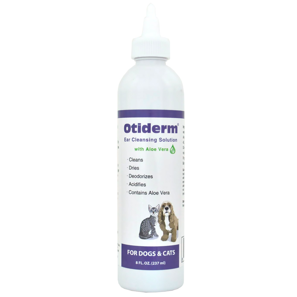 Otiderm Ear Cleanser for Dogs & Cats (8 fl oz)