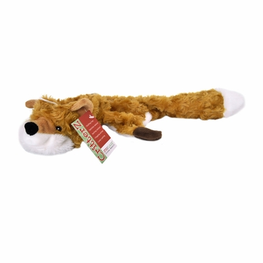 Otis & Claude CritterZ Stuffing Free Dog Toys - Fox (18