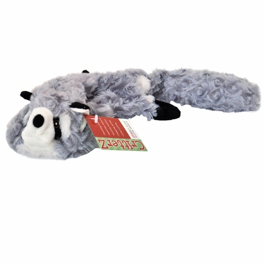 Otis & Claude CritterZ Stuffing Free Dog Toys - Raccoon (18