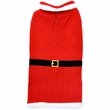 Otis & Claude Fetching Fashion Holiday Santa Sweater - Large