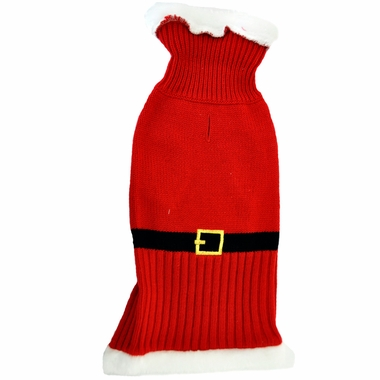 Otis & Claude Fetching Fashion Holiday Santa Sweater - Small