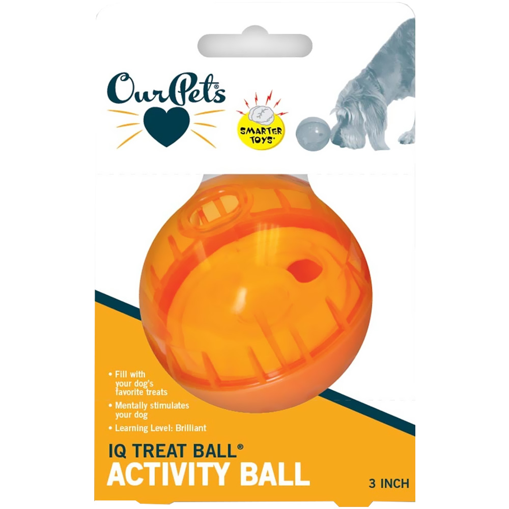 Ourpet IQ Treat Ball (Assorted) - 3