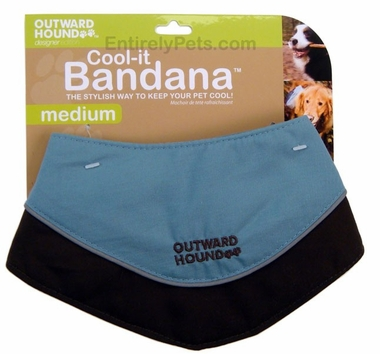 Outward Hound Cool-it Bandana - MEDIUM