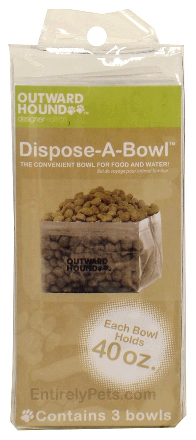 Outward Hound Dispose-A-Bowl