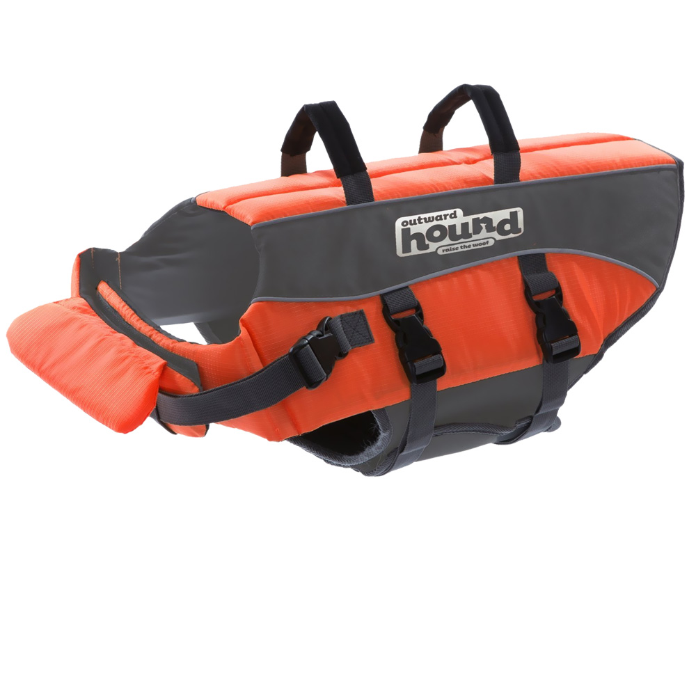 Outward Hound® PupSaver Ripstop Life Jacket - Orange (Large)