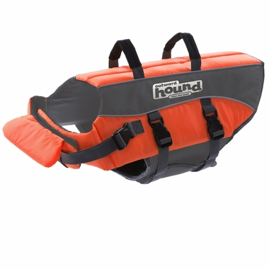 Outward Hound PupSaver Ripstop Life Jacket - Orange (Medium)