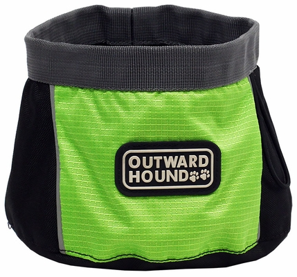 Outward Hound Port A Bowl (48 oz) - Medium Green