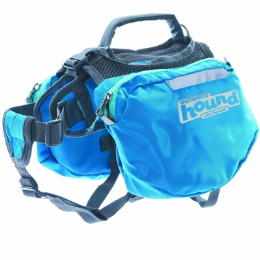 Outward Hound Quick Release Dog Backpack Blue - X-Large