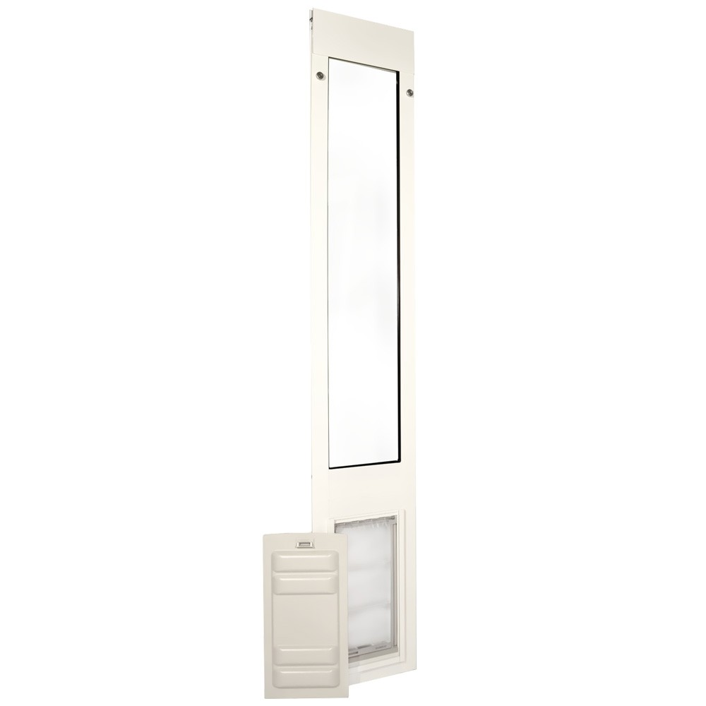 Patio Pacific Endura Flap Quick Panel 3 White Frame