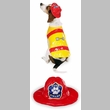 Pawfield Fire Chief Dog Costume - XSMALL