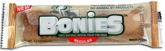 PENNY SAMPLE BONIES Natural Chewable Treat REGULAR SINGLES (2.23 oz)