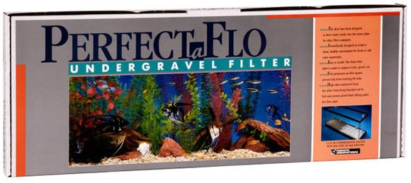 "Perfect-A-Flo Undergravel Filter (24"" x 12"")"