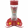 Perky Pet Pinch Waist Glass Hummingbird Feeder (8 oz capacity)