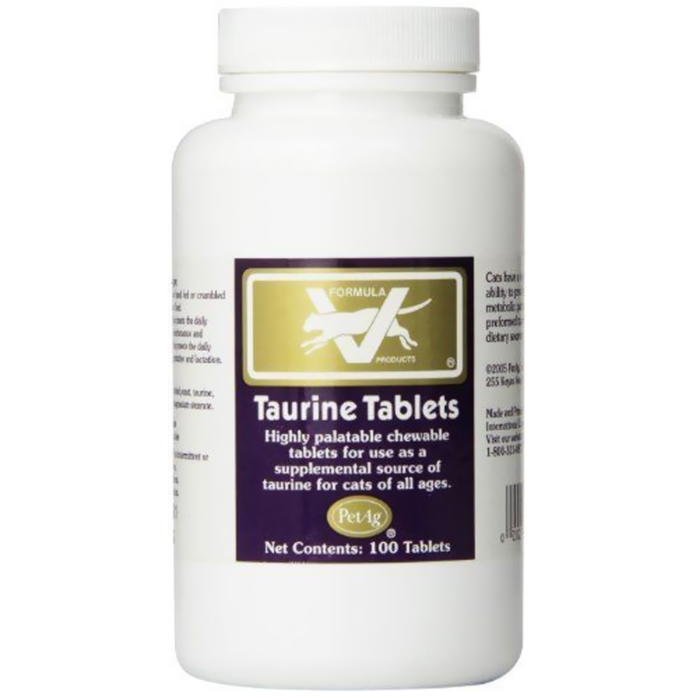 Pet Ag Taurine Tablets 250mg (100 count)